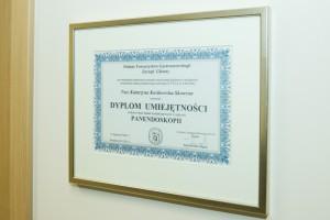 KOSKOMED Centrum Gastrologii I Dietetyki, Certyfikat 2